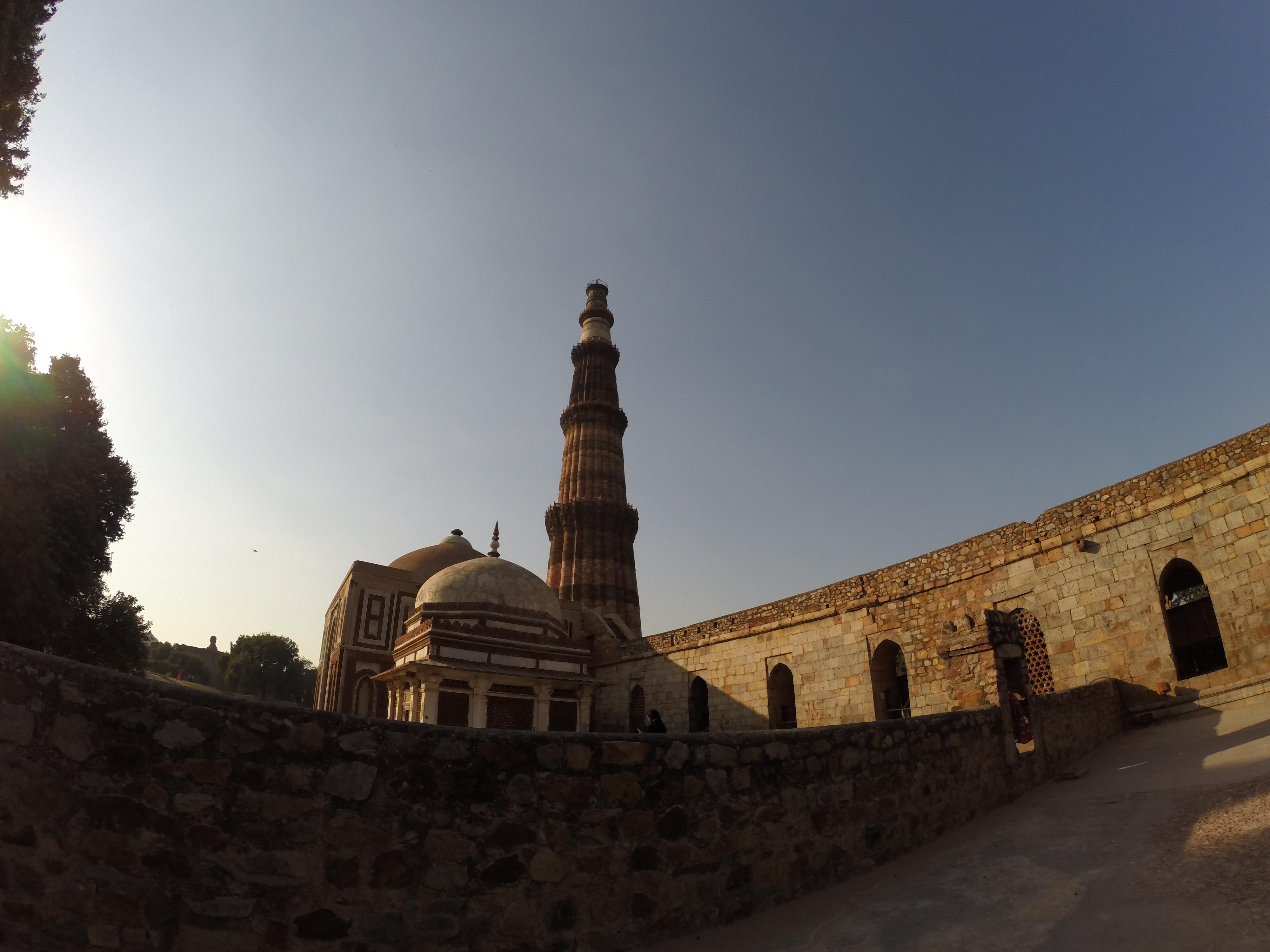 GoPro Qutb Minar