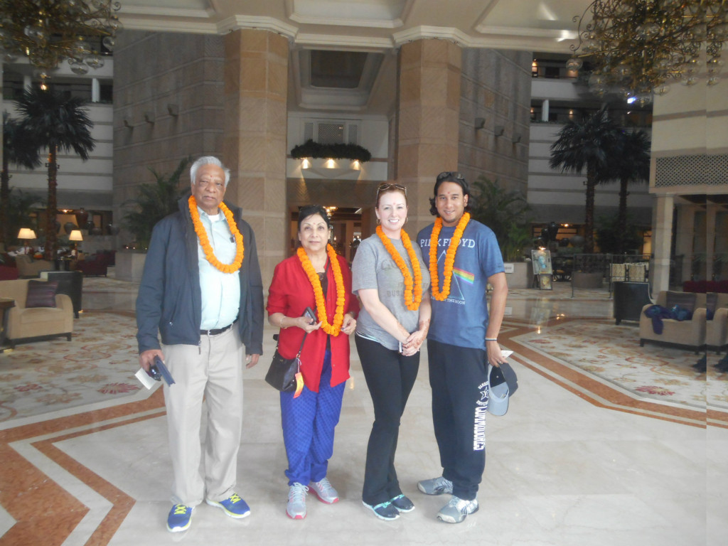 Arrival at the Taj Bengal