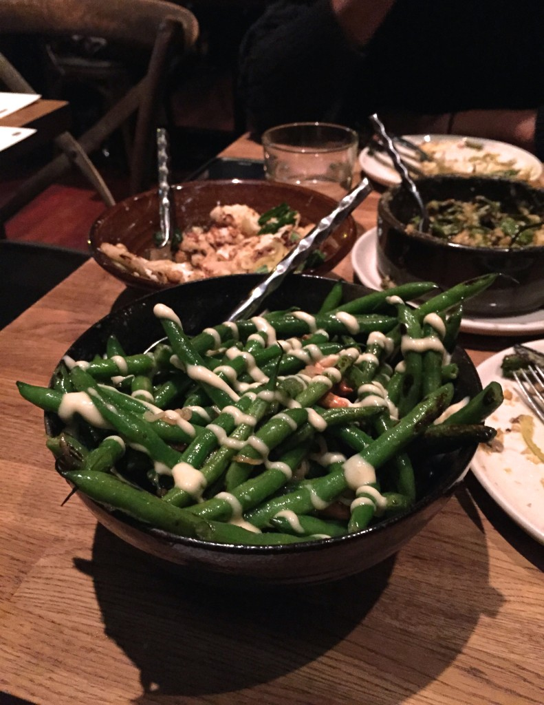 Sautéed green beans, Girl & The Goat, Chicago