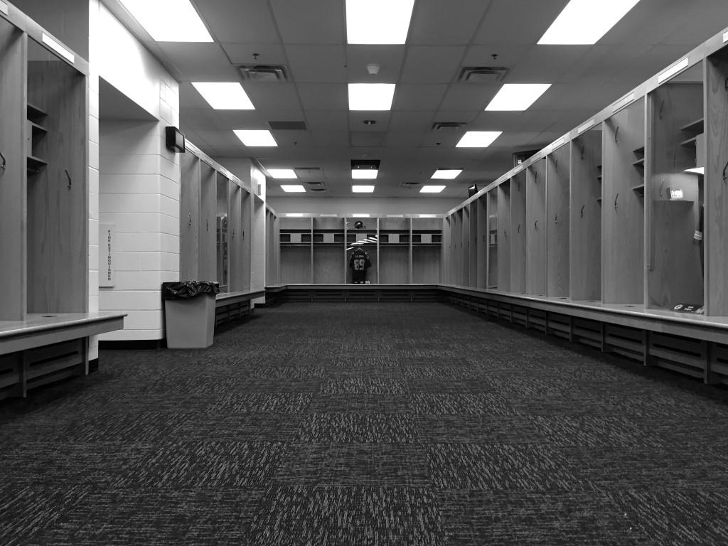 Visiting Team Lockers, Soldier Field