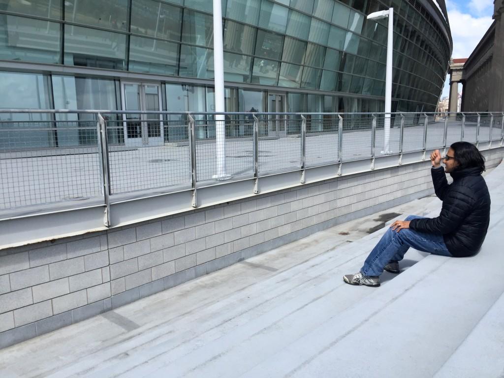 Seating from the original stadium