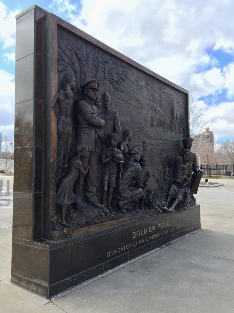 Veteran's Memorial, Soldier Field