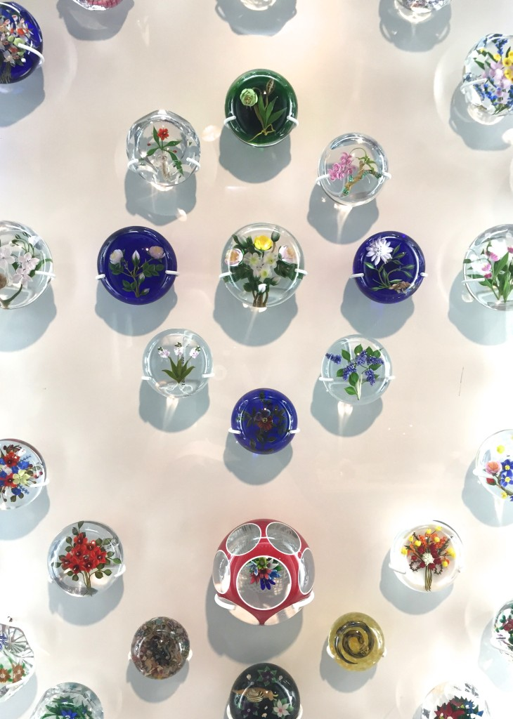 A whole room filled with paperweights is much more interesting than it sounds!