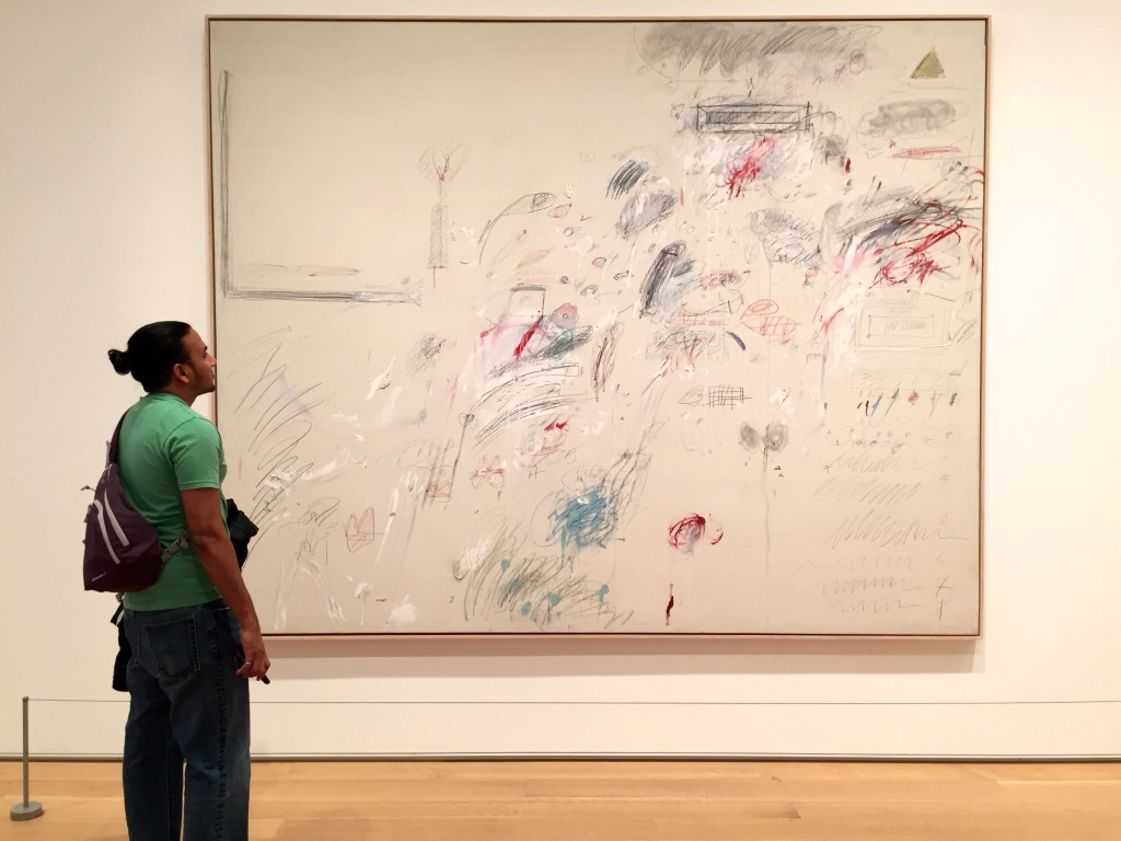 A new artist for you to hate on, Mom! Cy Twombly.