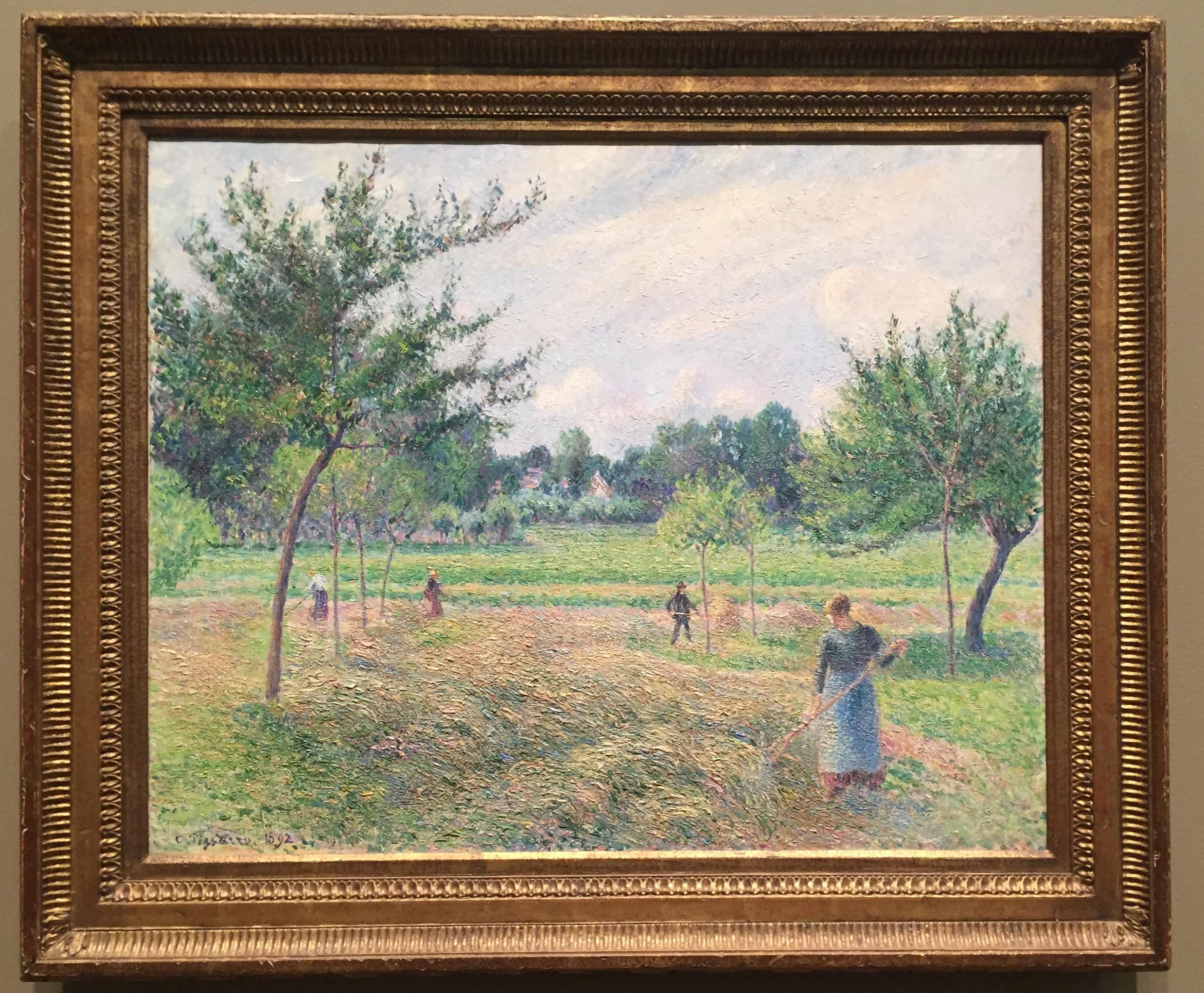Haymaking at Éragny