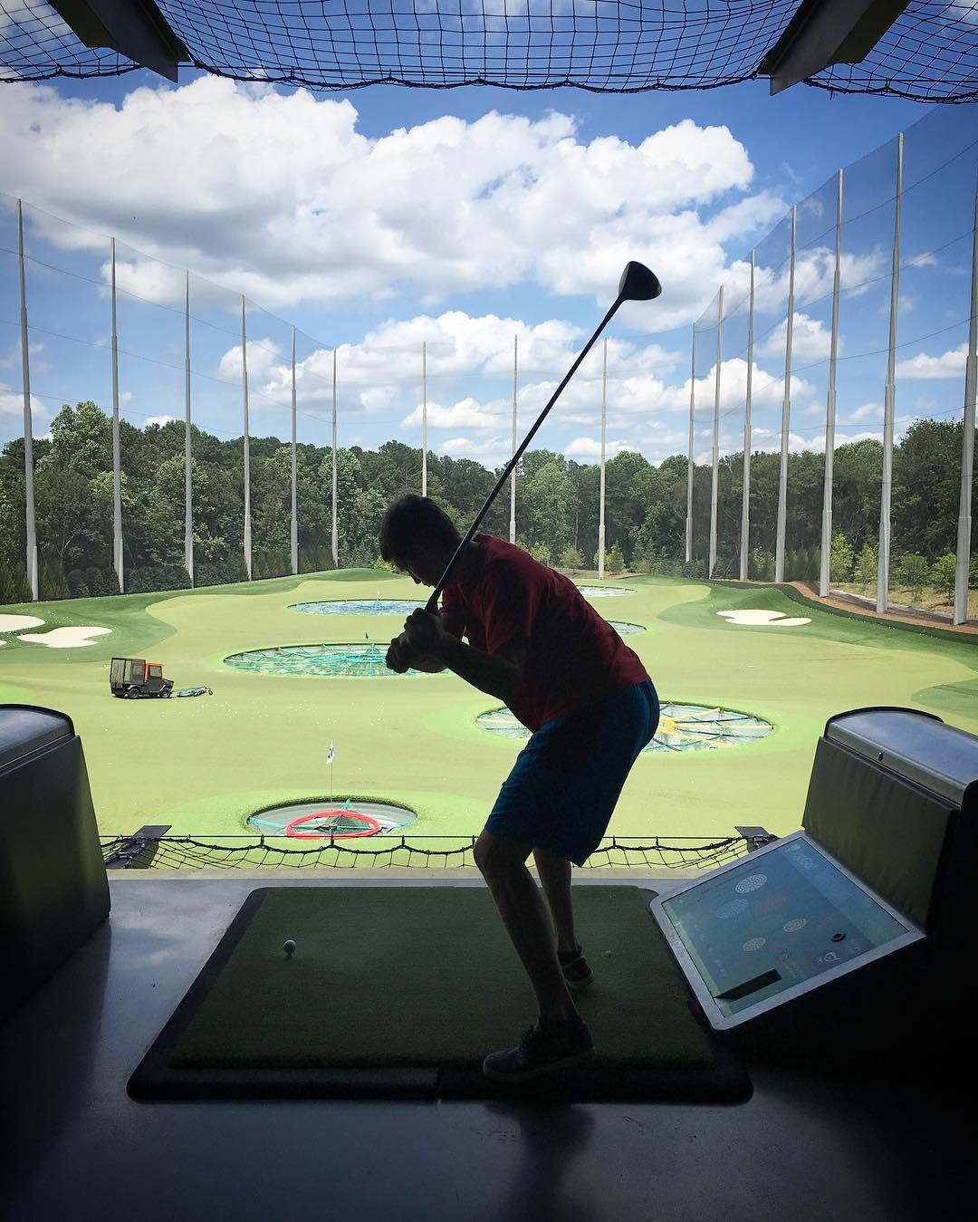Gorgeous day for TopGolf